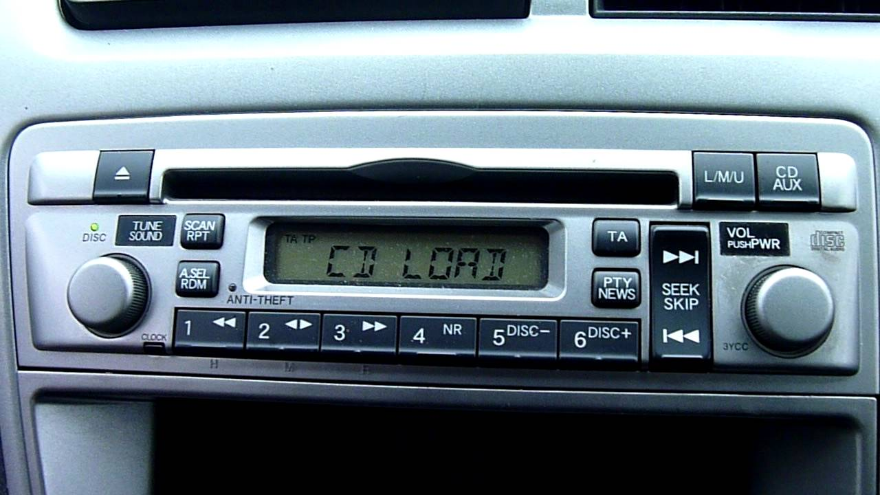 2005 honda civic cd player stereo youtube. Black Bedroom Furniture Sets. Home Design Ideas