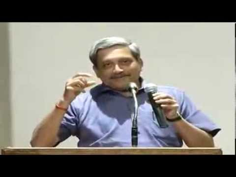 Interaction with Shri Manohar Parrikar, Chief Minister Goa at Intellectual Meet on Why BJP ?