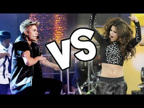 Justin Bieber Believe Tour V/S Selena Gomez Stars Dance,