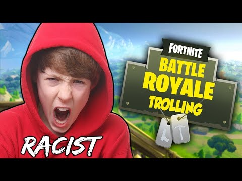 racist guy exposed and we killed him in fortnite random fill squads