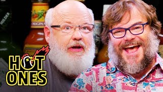 Tenacious D Gets Rocked By Spicy Wings | Hot Ones