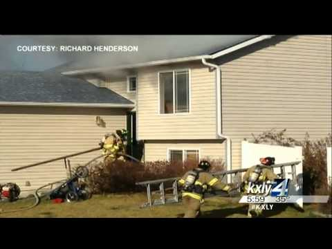 Turkey fryer fire burns Post Falls home