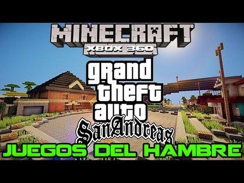 Minecraft 360 GTA San Andreas - Juegos del Hambre | Mapas Descargables