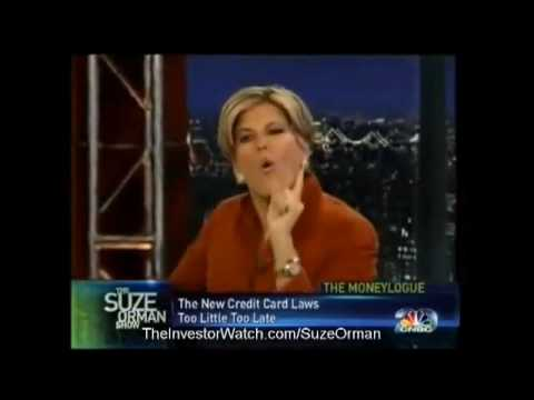 debt settlement - Suze Orman