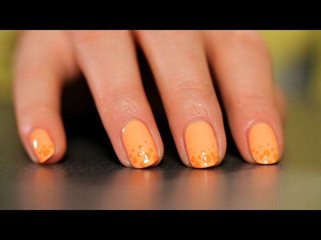 How to Do a Polka Dots Design | Nail Art