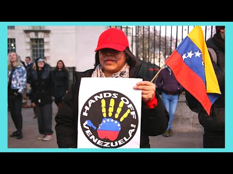 The Venezuela protest, 10 Downing Street (London, March 8 2014)