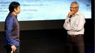 AR Rahman Interacts with Mani Rathnam about Kadal Songs Compossing -Kadal Press meet