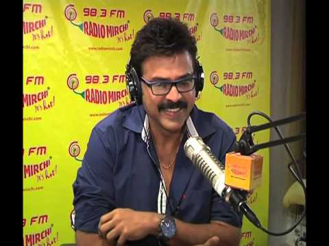 Victory Venkatesh promotes MASALA film at Radio Mirchi hyderabad