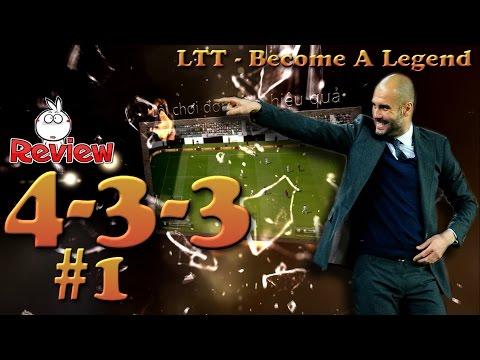 Kênh LTT | Review chiến thuật 4-3-3 #1 - FIFA Online 3