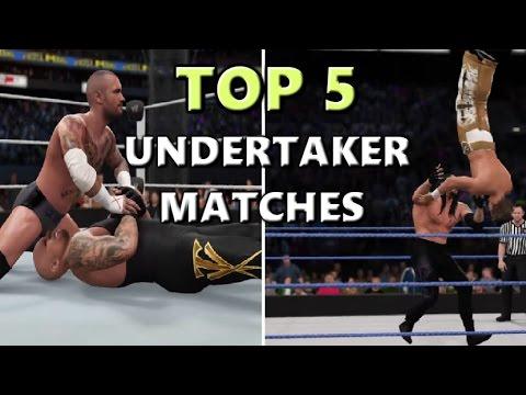 WWE 2K: UNDERTAKER TOP 5 GREATEST MATCHES