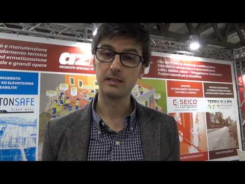 Intervista a Andrea Pattarini � AZICHEM, socio Conpaviper, in occasione del Made Exp� 2015