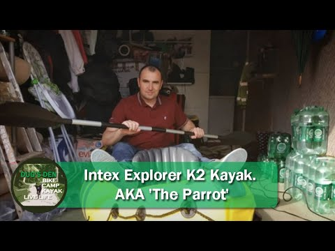 Kayak gonflable explorer k2