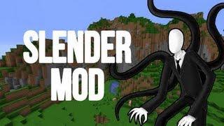 Minecraft Slender Man Mod
