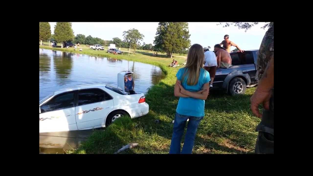 Zetts car dive youtube for Zetts fish farm