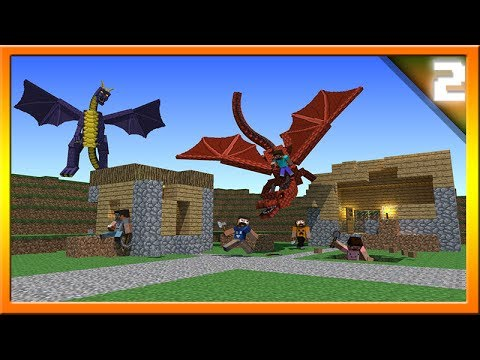 Minecraft 1.8 Dragon Village Raids! Community Suggestions Episode #2