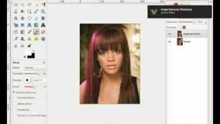 Igualar Color Del Pelo. Modelo: Rihanna
