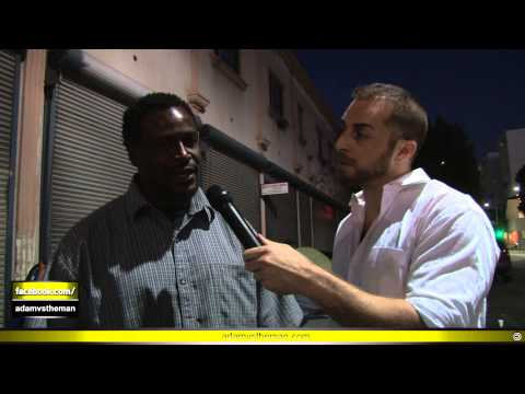 "Skid Row Man: ""FUCK YOU, OBAMA!"""