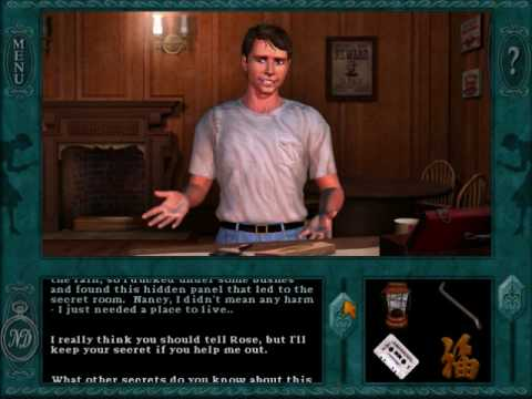 "Nancy Drew: Message in a Haunted Mansion (Part 10) Gum Bo Fu, A video walkthrough for ""Nancy Drew: Message in a Haunted Mansion"". In this section, I set off on the quest to talk to everyone about gum bo fu. I call Bess ..."