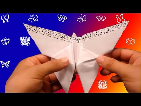 How to Make an Origami Butterfly