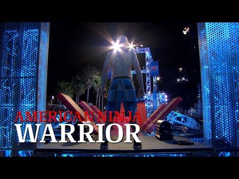 kevin bull american ninja warrior with hair. kevin bull, american ninja warrior finalist has an interesting take on how to conquer \ bull with hair
