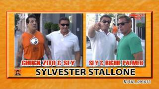 Sylvester Stallone With Old Friends Chuck Zito & Richie
