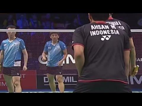 M.Ahsan/H.Setiawan v Lee Y.D./Yoo Y.S.|MD-F| Yonex Denmark Open 2013