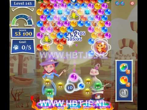Bubble Witch Saga 2 level 145