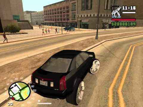 cts on 30s gta san andreas donk mod