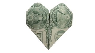 How To Fold A Money Origami Heart