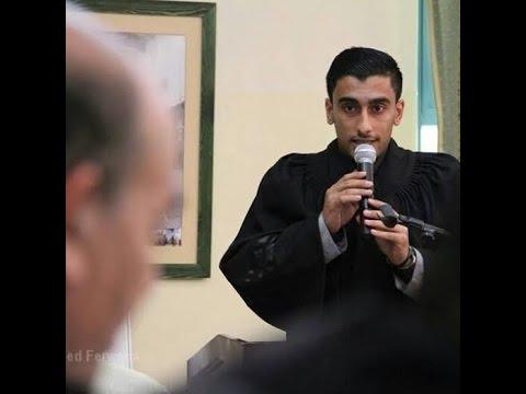 """غزة: """"أبو فول"""" أول عربي يحصد مقعد تدريب في محكمة """"لاهاي"""" يناشد بتمويل بعثته"""