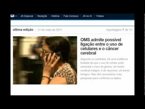 Uso de celular pode causar cancer cerebral