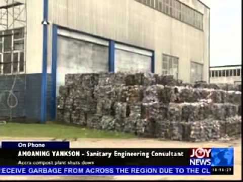 Accra Compost Plant Shuts Down - Today's Big Story on Joy News (20-5-14)
