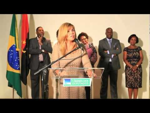 Exposição A Mulher Angolana na Câmara dos Deputados