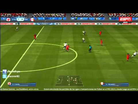 EA SPORTS 2014 FIFA WORLD CUP - England vs Peru | International Friendly @ Simulacion PS3 HD