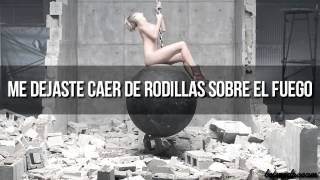 Miley Cyrus Wrecking Ball (Traducida Al Español) (Video