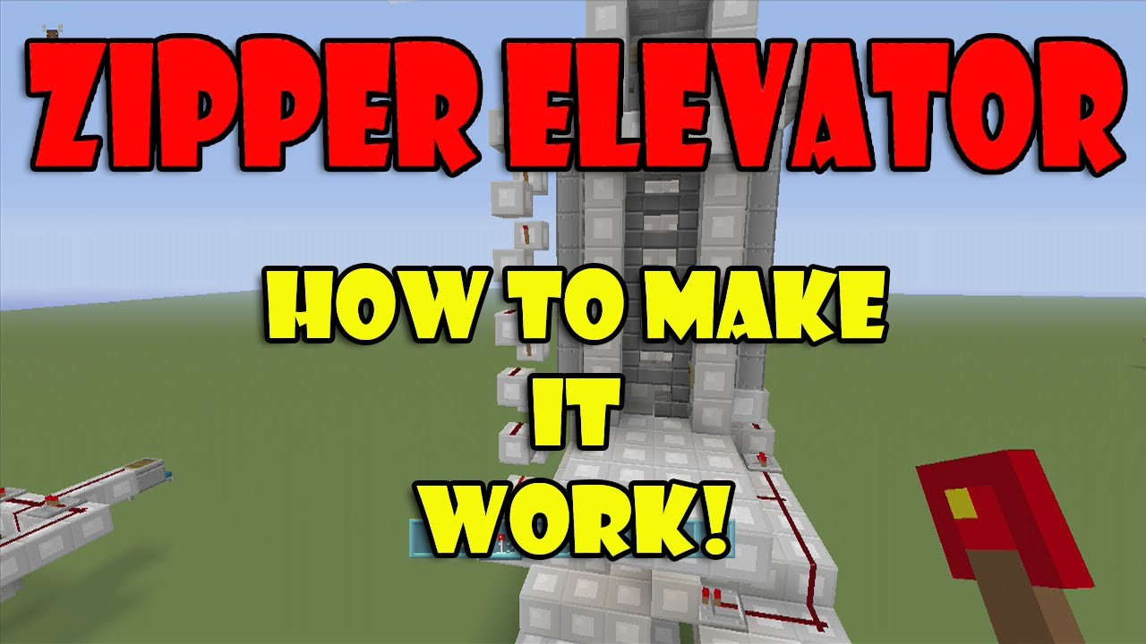 how to build an elevator in minecraft xbox 360 edition