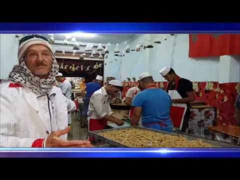"""حلويات """"الشباكية"""" عند عمي عبد السلام تشارا"""