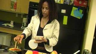 Global Cuisine - Cooking Ethiopian style pizza