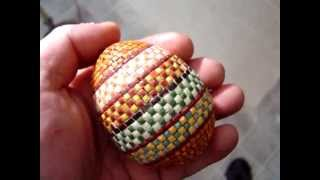 mosaic art egg