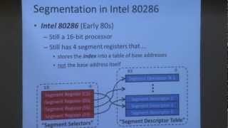 Carnegie Mellon - Computer Architecture 2013 - Yoongu Kim - Lecture 17 - Virtual Memory 2