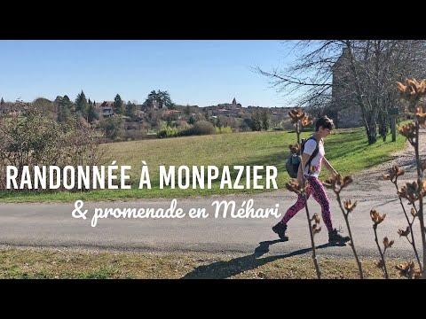 Randonnée à Monpazier