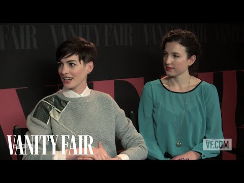 Anne Hathaway and Kate Barker-Froyland on