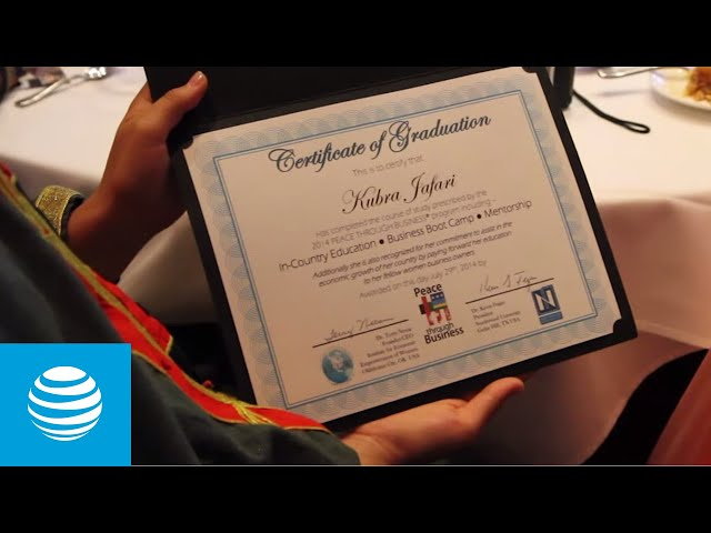 Peace Through Business - 2014 Graduation Ceremony