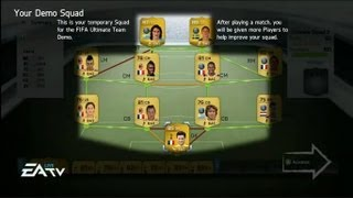 FIFA 14 ULTIMATE TEAM FIRST GAMEPLAY EVER FUT 14