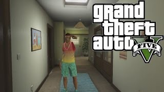 Gta 5 Online How To Get Into Franklin's Old House!