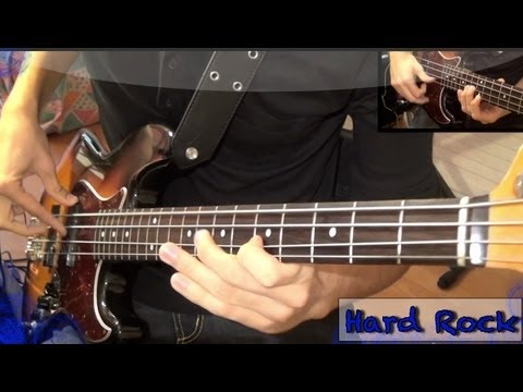 Explosive Hard Rock Bass solo