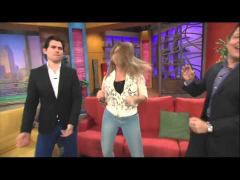1   Alicia Machado on ¡Despierta América! 8 26 13