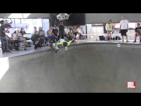 Brenna Pawley - Vans Girls Combi Pool Classic 2013