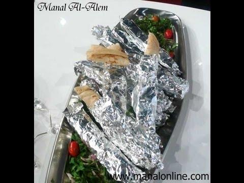 شاورما عربي مطبخ منال العالم