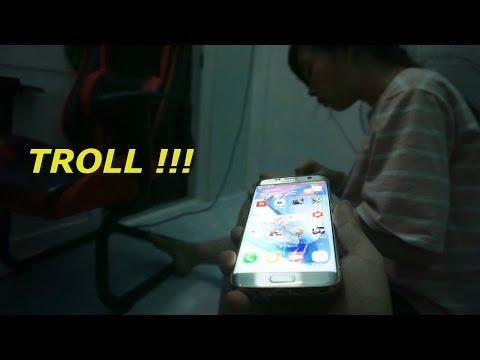 Troll Chị Dái : Đập Nát Điện Thoại Chị Dái Khóc Hụ Hụ !!!